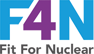 Fit for Nuclear accreditation logo F4N
