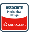 Solid works logo - Associate Mechanical Design